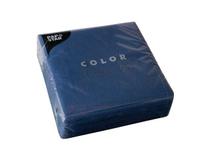 Servett 33x33 3-lag mörkblå 50st/fp