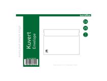 Kuvert C5 täckremsa vita 50st/fp