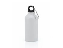 Vattenflaska Mento aluminium 400ml vit