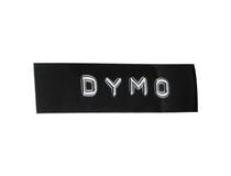Märkband Dymo 3D präglingstejp 9mm svart