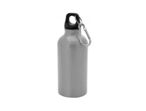 Vattenflaska Mento aluminium 400ml silver