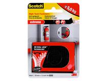 Kardborreband Scotch Extreme 25x75mm svart