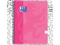 Kollegieblock Oxford Touch A4 90g rutat rosa
