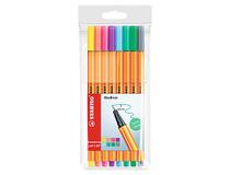 Fiberpenna Stabilo 88 0,4mm pastell 8-pack
