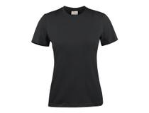 T-Shirt Texet Heavy RSX dam svart strl M
