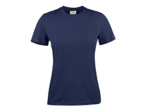 T-Shirt Texet Heavy RSX dam marinblå strl S