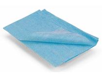 Disk/torkduk Nonwoven 33,5x60cm blå 25st/fp