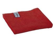 Microfiberduk Vikan Basic 32x32 röd 5st/fp