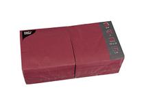 Servett 33x33 3-lag vinröd 250st/fp