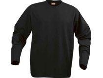 Långärmad tröja Texet Heavy T herr svart strl XL