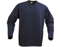 Långärmad tröja Texet Heavy T herr marinblå strl M