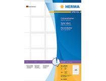 Pärmetikett Herma självhäftande 51x55mm 375st/fp