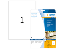 Etikett Herma Special Power 210x297mm 25st/fp