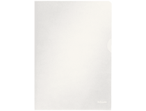 Plastmapp A4 PP 0,11 klar präglad 100st/fp