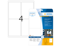 Utomhusetiketter Herma vita 99,1x139 A4 40st/fp