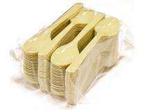 Bestick matsked Delux plast 5x100st/krt