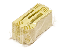 Bestick gaffel Delux plast 500st/krt
