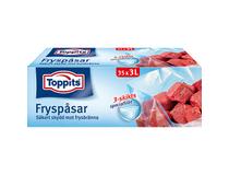 Fryspåse Toppits 3 liter 35st/rl