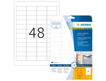 Utomhusetiketter Herma vita 45,7x21,2 A4 480st/fp