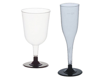 Champagneglas plast 12cl 108st/fp