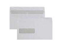 Fönsterkuvert E65 V2 vita täckremsa 500st/kartong