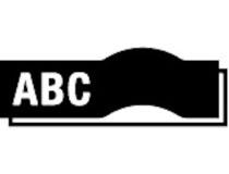 Märkband Brother TZe-355 24mm vit/svart