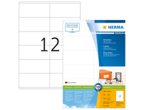 Etikett Herma Premium 105x48mm 1200st/fp