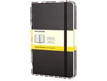 Anteckningsbok Moleskine Classic Pocket rutat svart