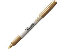 Märkpenna Sharpie Metallic guld 12st/fp