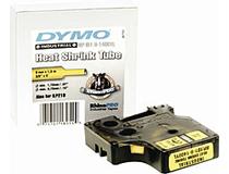 Krympslang Dymo M1400 12mm svart/gul 5st/fp