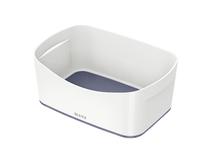 Förvaringslåda Leitz MyBox vit/grå 4st/fp