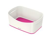 Förvaringslåda Leitz MyBox vit/rosa 4st/fp