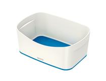 Förvaringslåda Leitz MyBox vit/blå 4st/fp