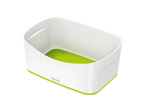 Förvaringslåda Leitz MyBox vit/grön 4st/fp