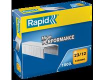 Häftklammer Rapid High Performance 23/12 1000st/fp
