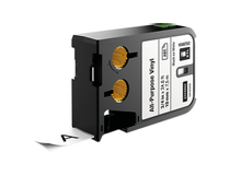 Märkband flerfunktionsvinyl Dymo XTL 19mm svart/vit