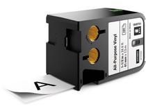Märkband flerfunktionsvinyl Dymo XTL 41mm svart/vit