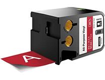 Märkband flerfunktionsvinyl Dymo XTL 54mm vit/röd