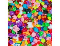 Pärlor plast mix 3350st/fp
