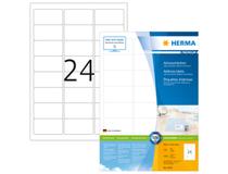 Etikett Herma Premium 63,5x33,9mm 2400st/fp