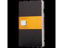 Anteckningsbok Moleskine Cahier Pocket linjerat svart