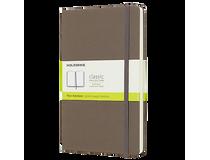 Anteckningsbok Moleskine Classic Pocket linjerad brun