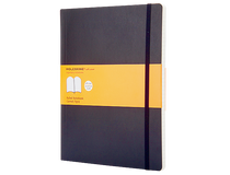Anteckningsbok Moleskine Classic XL Soft linjerat svart