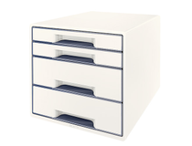 Förvaringsbox Leitz WOW vit/grå