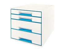 Förvaringsbox Leitz WOW vit/blå
