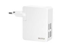 Väggladdare Leitz Complete Traveller 24W 4 USB