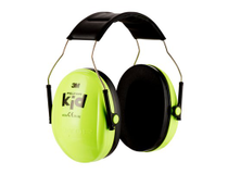Hörselkåpa 3M Peltor Kid neongrön