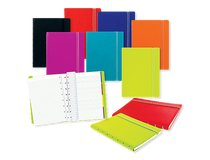 Filofax Notebook Pocket 144x105mm linjerat röd