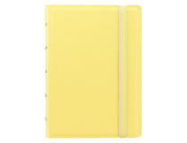 Filofax Notebook Pocket 144x105mm linjerat gul pastell