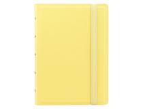 Filofax Notebook Pocket 144x105mm linjerat gul pastell